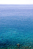 Ocean surface. Calm water surface detail rippled by the wind Royalty Free Stock Images