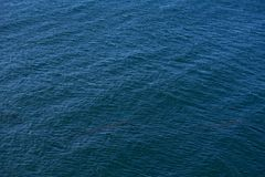 Ocean Surface Background. Dark Blue Ocean Surface. Nature Photo Backgrounds Collection Stock Image
