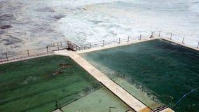 Ocean Swimming Pool Stock Photography