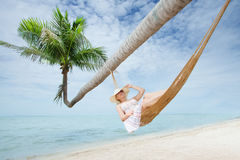 Ocean swing Royalty Free Stock Images