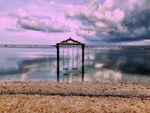 Ocean Swings Stock Photo