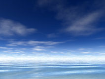 ocean tło Obrazy Stock