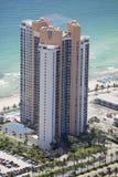 Ocean Three Condominium Stock Images