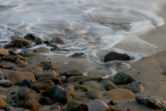 Ocean Tides II royalty free stock photo