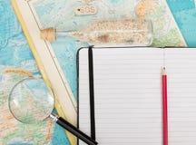 Ocean travel. Travel to distant ocean islands stock images