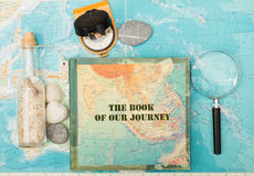 Ocean travel. Travel to distant islands concept Royalty Free Stock Images