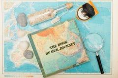 Ocean travel. Travel to distant islands concept stock photos