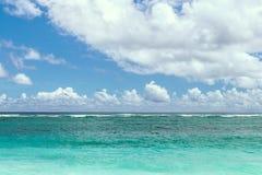 Ocean Under Calm Sky Royalty Free Stock Photo