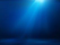 Ocean Underwater. Background. Blue Deep. Vector EPS8 Stock Photography