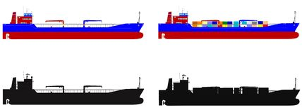 Ocean vessels Stock Images