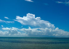 Ocean View. View onto the Atlantic ocean from Miami, Florida Stock Images