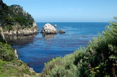 Ocean View. Pt Lobos, Calif royalty free stock images
