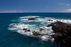 Ocean view. Coastline, Hawaii, Maui Stock Photography