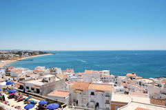 Ocean view from Albufeira Stock Images