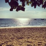 Ocean view. View of the ocean from a beach in Bali, Indonesia Royalty Free Stock Photo