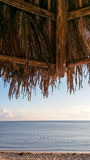 Ocean view from beach shack Stock Photos