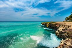 Ocean view. A beautiful beach and ocean view Royalty Free Stock Photography