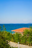 Ocean View In Bright Day Stock Photo