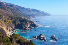 Ocean view in california Royalty Free Stock Photos