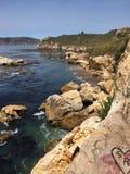 Ocean view. Cliff ocean view Royalty Free Stock Photos