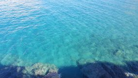 The ocean. View of the ocean in Crete Royalty Free Stock Photos