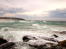 Ocean View @ Curl Curl Beach, NSW Australia. Beautiful ocean view at Curl Curl Beach Sydney, Australia Royalty Free Stock Image