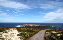 Ocean View @ Flinders Chase National Park Royalty Free Stock Photos