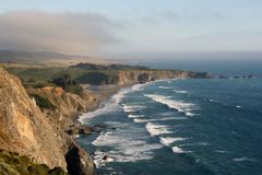 Ocean View from Highway 1 Royalty Free Stock Photography