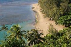 Ocean view. From hike, Kauai Stock Photo