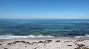 Ocean view from La Jolla Stock Photography