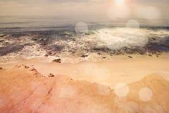 Ocean view from La Jolla Stock Photo