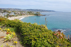 Ocean view. Laguna Beach Stock Photo