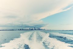 Ocean View of Miami Royalty Free Stock Images
