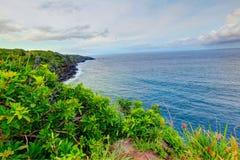 Ocean view on the Road to Hana, Maui, Hawaii Stock Photography