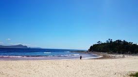 Ocean View, Seal Rocks, Australia Royalty Free Stock Photos