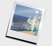 Ocean view from ship Royalty Free Stock Photography