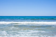 Ocean view in sunny summer day Stock Photos