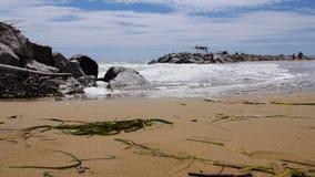 Ocean view stock video footage
