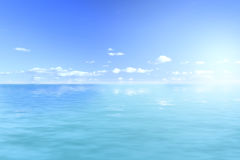 Ocean views and sunlight Royalty Free Stock Photo