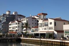 Ocean Village Marina in Gibraltar Royalty Free Stock Photos