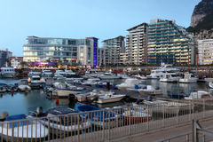 Ocean Village Marina in Gibraltar Royalty Free Stock Image