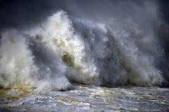 Ocean wściekłość Zdjęcia Stock