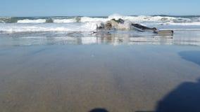 Ocean w Pólnocna Karolina Fotografia Stock