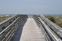 Ocean Walkway Royalty Free Stock Images