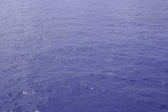 Ocean Water. A clear shot of wide open ocean water. Great background picture Stock Photography