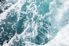 Ocean Water. Background of blue ocean waves in the tropical sea stock photography