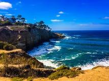 Ocean near San Diego California. Ocean water California sandiego Stock Photo