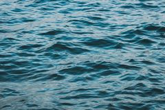 Ocean water closeup - water ripple texture.  stock photography