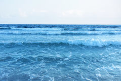 Ocean water with copy space Stock Photos