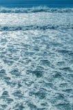 Ocean water foam background Stock Photography
